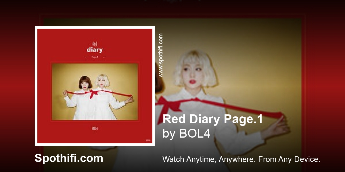 Red Diary Page.1 by BOL4 | Album of the hour